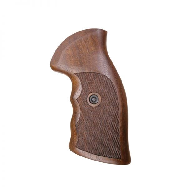 Ruger Gp100 Wood Grips (Stainless Steel Frame)